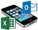 Importer ses contacts iPhone, Outlook ou Excel dans JobFinder